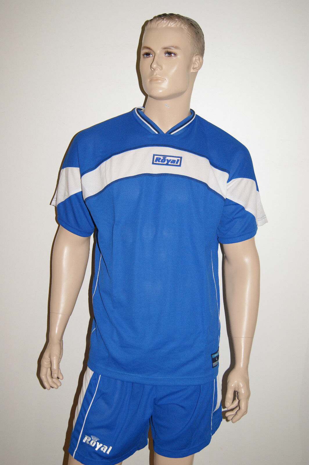 November - HIT  14 v.ROYAL,royal/blau, Kurzarmtrikot-Sets IRON v.ROYAL,royal/blau, 14 Gr. L + XL a8b861