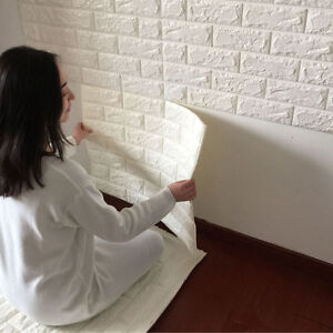 Details About Lots 6 10 20 Rolls Brick Pattern Wallpaper Living Room Wall Background Decor