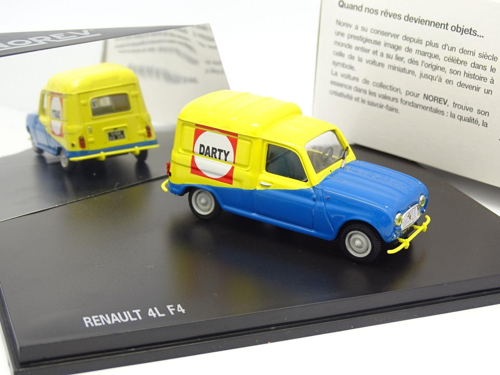 Norev 1 43 - Renault 4 4L F4 Darty