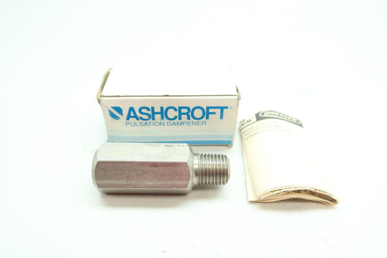 Ashcroft 1//4-1106 Pulsation Dampener Accessory