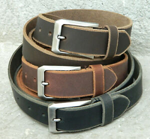 calyx real leather men's belt casual semi formal wide rb