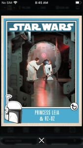 Topps-Star-Wars-Digital-Card-Trader-Princess-Leia-amp-R2-D2-Prime-Insert