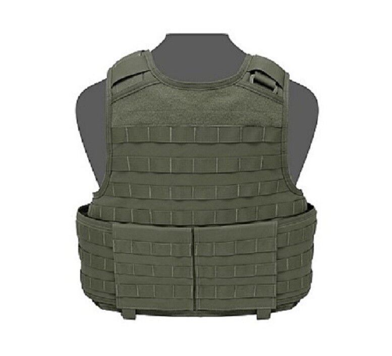 Warrior Assault Raptor Molle Plate Carrier BW Plattenträger oliv Grün Gr. M