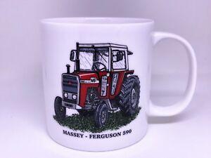 BN Boxed Grey Ferguson TE20 Vintage Tractor Gift Mug Gift Mug Stoneware Mug