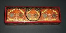 Tipo de madera antigua Papel/Caja Con Diseño Oriental.