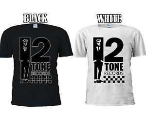 2 Tone Records Deux Ska Reggae Rude T-shirt Baseball Débardeur Hommes Femmes Unisexe 2627-afficher Le Titre D'origine