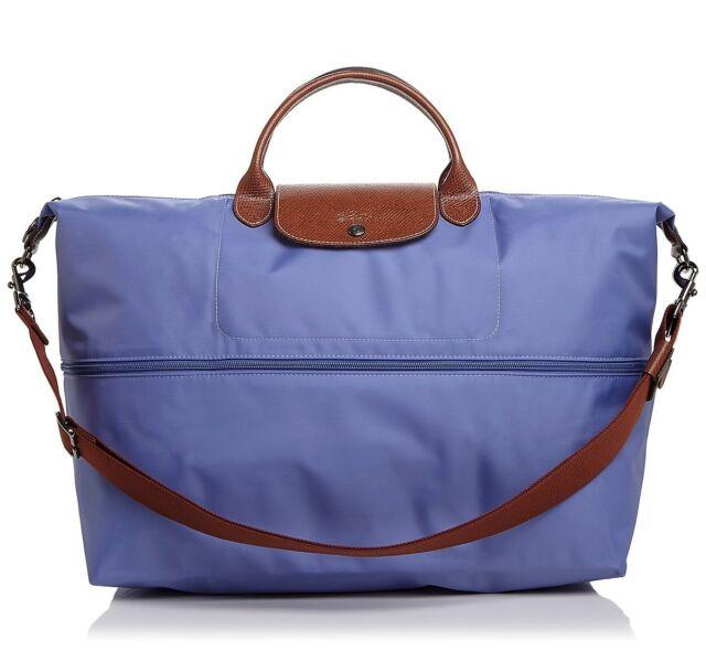 Nwt Longchamp Le Pliage Expandable Travel Crossbody Bag 1911089 Lavender 255