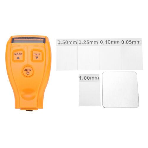 GM200 LCD Digital Car Paint Coating Thickness Probe Tester Gauge Meter Measure Z