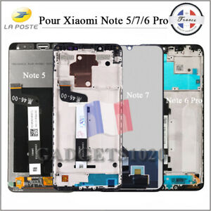 Ecran-complet-LCD-Tactile-Xiaomi-Redmi-Note-5-Note-7-Pro-Note-6-Pro-Frame