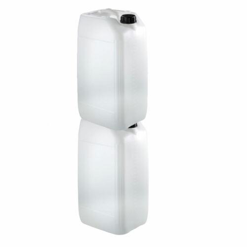 5 x 25 l plastique de stockage d/'eau//Conteneur//FOOD//Essence Bidon 25 L Brand New