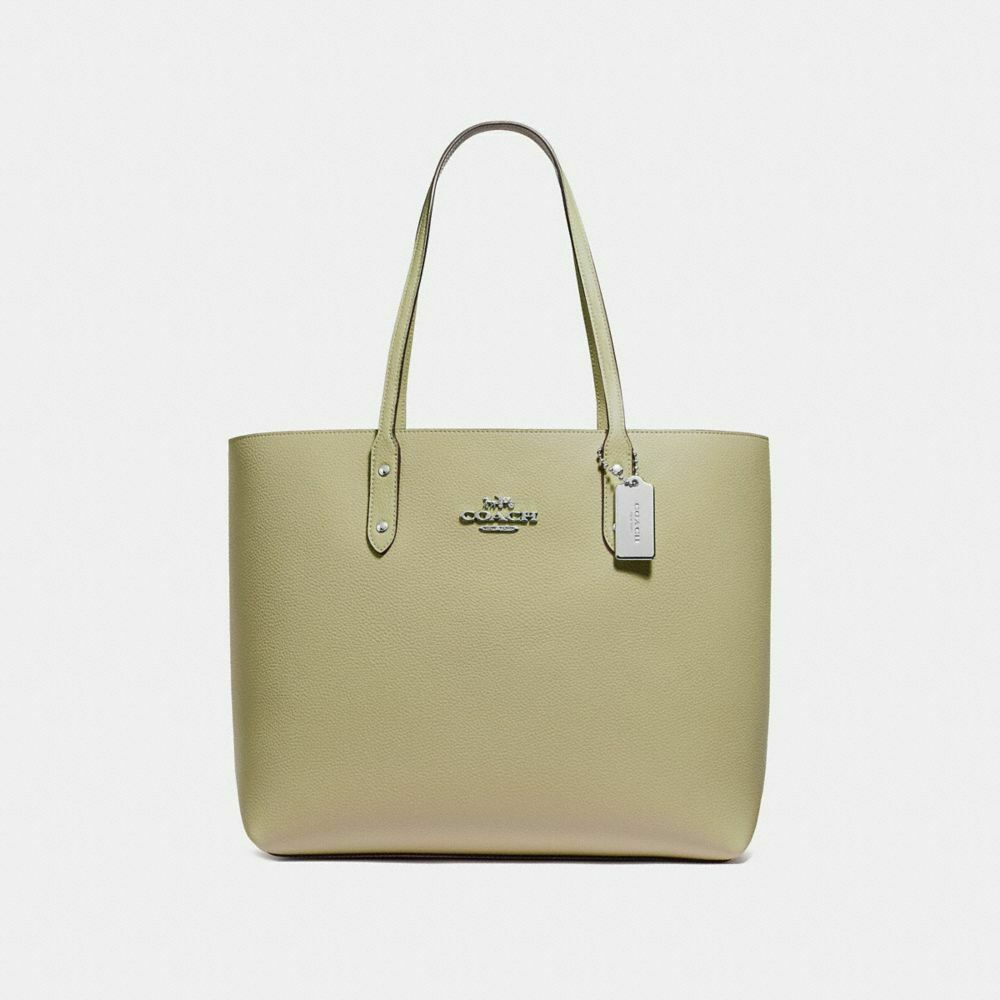 2655c59097c7 Details about New Coach F72673 Leather Town Tote Shoulder Bag