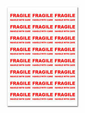240 - FRAGILE - Handle with care Labels Medium Stickers