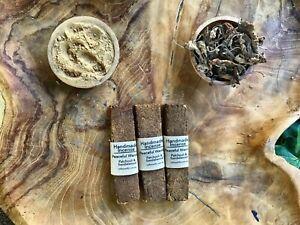 Handmade-incense-3-planks-of-Warrior-Patchouli-Leaf-amp-Sandalwood