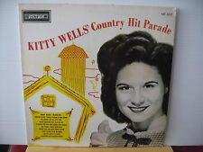 KITTY WELLS' Country Hit Parade STETSON RECORDS VINYL LP HAT 3037 Free UK Post