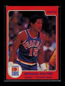 1984-85-Star-Company-MICHAEL-HOLTON-card-42-ERROR-CORRECT-2-cards