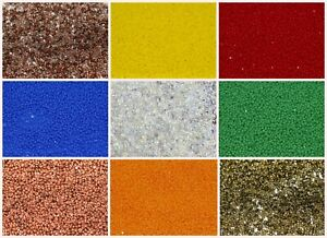 CHOOSE-COLOR-10-g-Cut-Seed-Beads-15-0-Preciosa-Czech-Glass