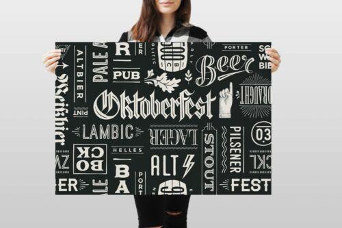A1Oktoberfest Poster Art Print 60 x 90cm 180gsm birra tedesca regalo festa #8453