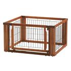 Richell USA 94196 Convertible Elite Pet Gate L4 Brown