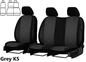FORD-TRANSIT-CONNECT-2014-2020-ARTIFICIAL-LEATHER-EMBOSSED-SEAT-COVERS-TAILORED