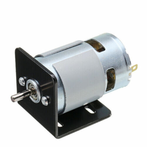 Double Ball Bearing Electric 775 Motor With L-type Mounting Bracket Accessories