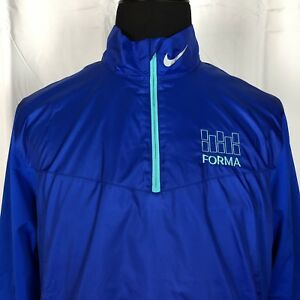 348f628a2dce NEW Nike Golf Pullover Windbreaker Jacket Mens L Royal Blue Nike ...