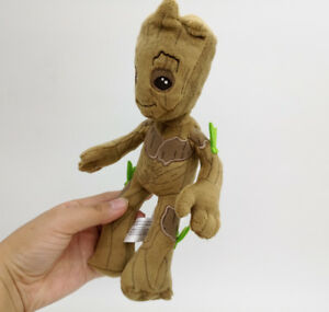 Original-Marvel-Guardians-of-the-Galaxy-8-5-034-Baby-Groot-stuffed-plush-toy-new