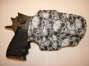 HOLSTER GRAVEYARD CAMO FITS DESERT EAGLE 357 44 MAG 50 AE MAGNUM REASEARCH
