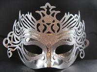 Silver Masquerade Mask  Fancy Dress / Party / Ball / Mardi Gras