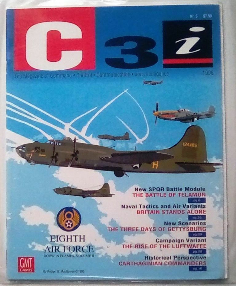 NEW, C3i  6 Eighth Air Force cover, by GMT; w  all inserts