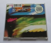EVERYTHING BUT THE GIRL - WRONG MCD CD TODD TERRY REMIX