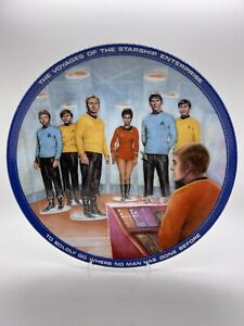 Star Trek - Beam Us Down Scotty - Porcelain Plate - Hamilton Collection Series
