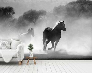 3d Horse Group 788 Wall Paper Exclusive Mxy Wallpaper Mural Decal