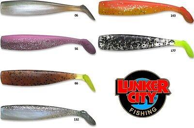 Lunker City Freaky Fish 140mm 8pc Leurre souple COULEURS