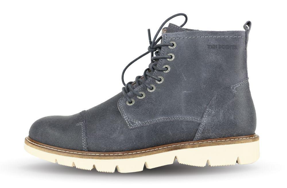Ten - Points Alvin 201 Grey 120022 - Boots - Ten Herren - Grau +NEU+ d24aeb