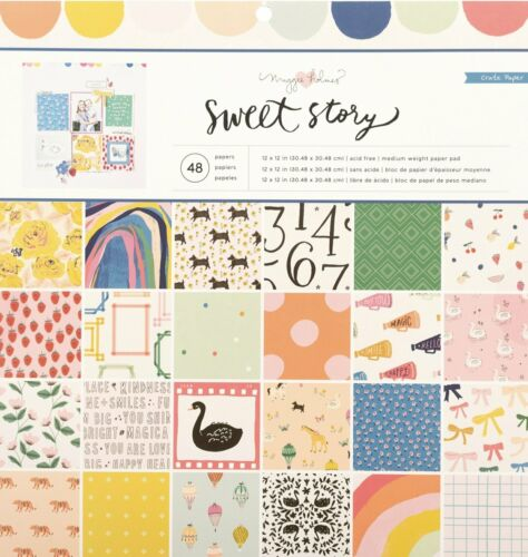 Maggie Holmes Sweet Story 12x12 Paper Pad