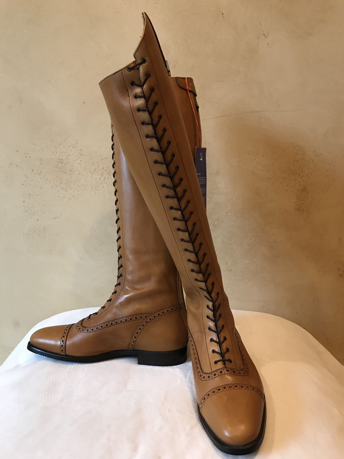 Tucci Design, Gina Field Boots, Size 40 - New  with Tags  factory direct sales