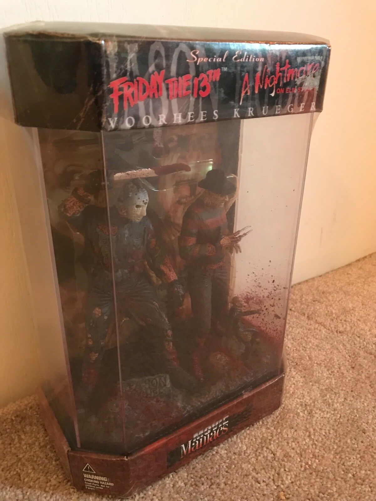 McFarlane Toys Freddy vs Jason - Special Edition Friday the the the 13th Jason vs Night 581833