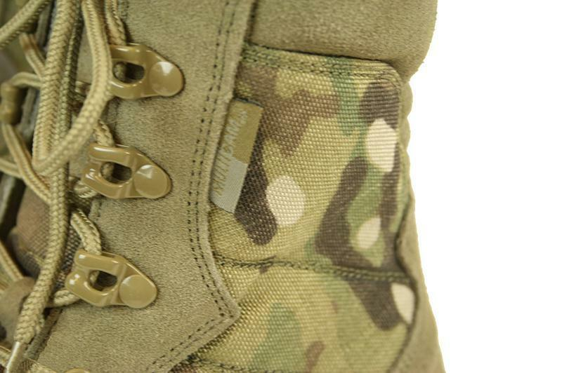 MULTICAM US TACTICAL Stiefel ARMY OUTDOOR STIEFEL mit EU YKK ZIPPER US 8 EU mit 41 a33dd2