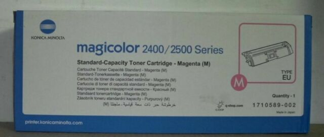 Konica Minolta 1710589-002 Toner magenta  für magicolor 2400 2500  OVP B