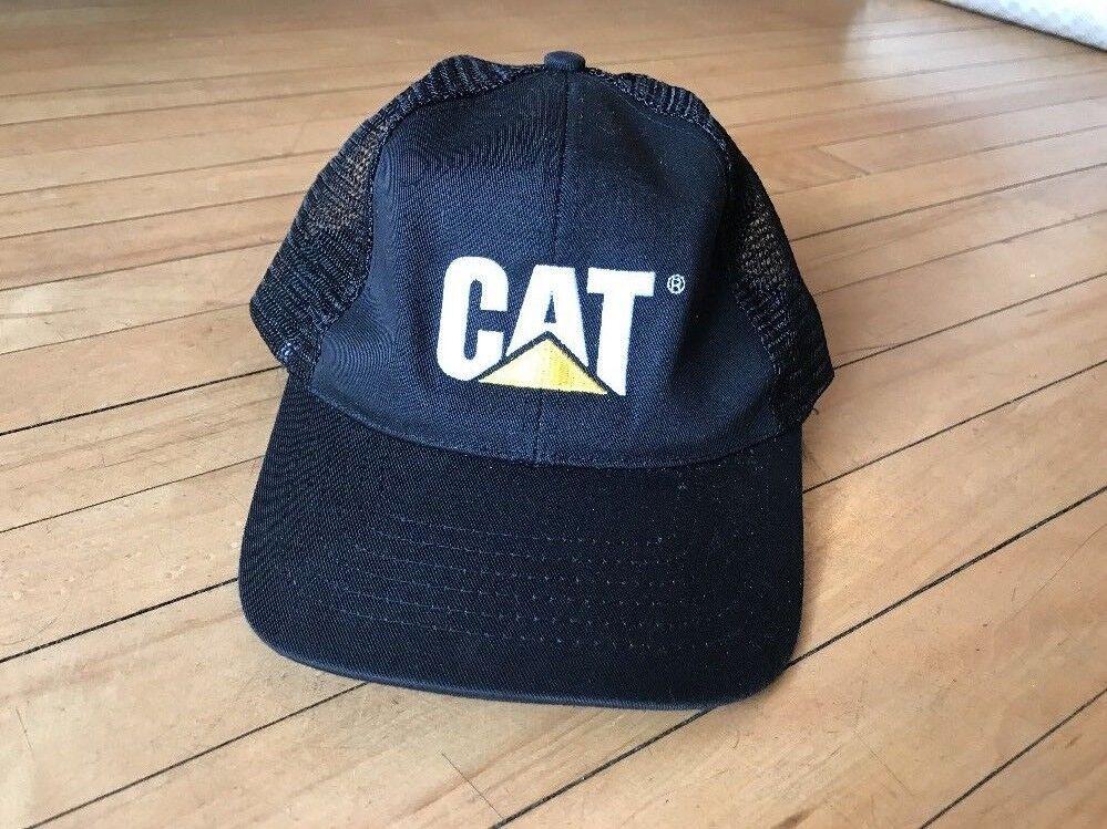 Caterpillar Hat Snap Mesh Trucker Diesel Tractor Snap Hat Back 84f728