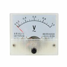 AC Analog Meter Panel 1V  Voltage Meter Voltmeters 85L1 0-1 V Gauge