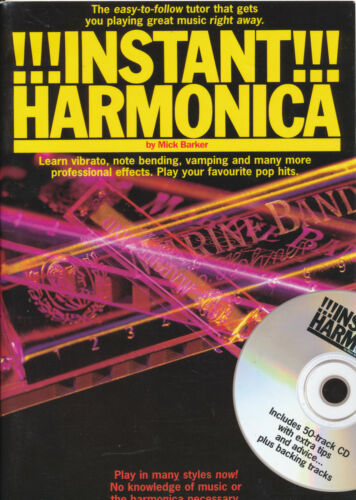 Instant Harmonica Mick Barker with CD