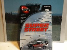Hot Wheels 100% Preferred Super Street Black/Grey Toyota Celica w/Real Riders