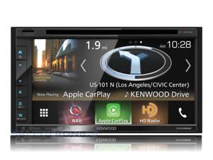 Kenwood-DNX695S-Built-In-GPS-Car-Play-HD-Radio-Bluetooth-USB-MP3-DVD-2-DIN