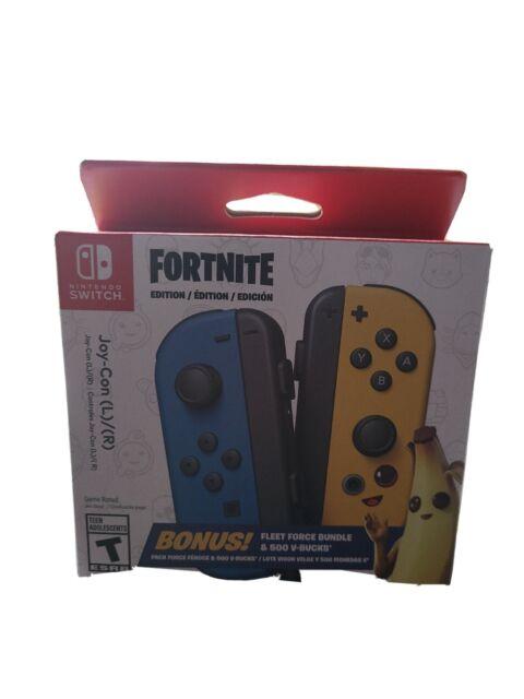 👀Fortnite Edition Joycons Nintendo Switch NEW sealed 👀