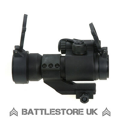 M2 Red Dot Sight Black with Killflash! Cantilever Airsoft Tactical Scope UK