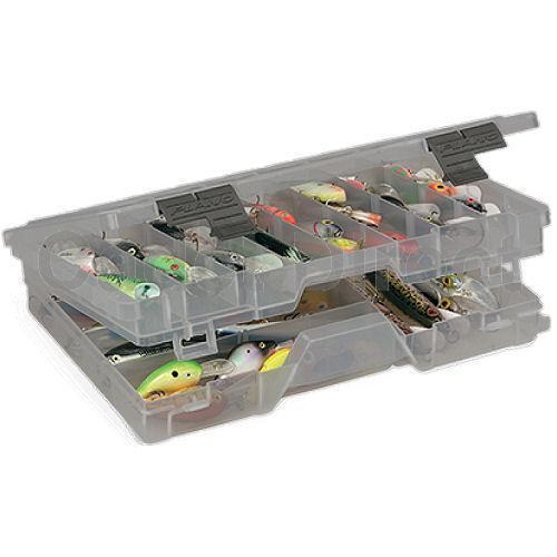 Plano 4700 Double Layered Organiser Box for Fishing, DIY and Hobby Storage