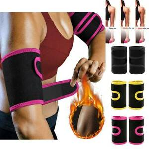 Arm Trimmers Body Exercise Wraps Fat Burner Sauna Sweat Band Slimming Shaper Gym