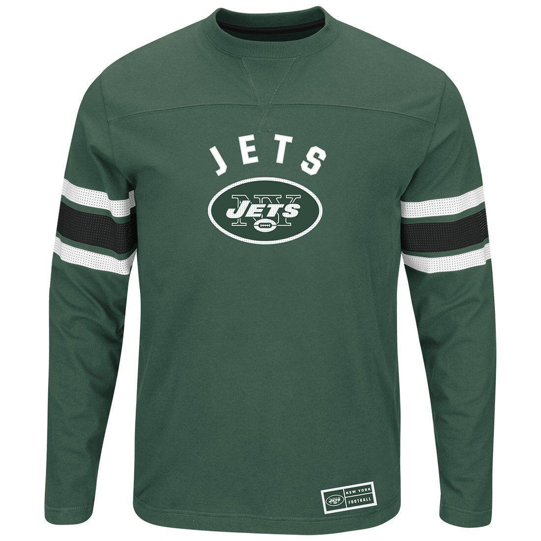 NFL Football Langarm Langarm Langarm Shirt NEW YORK N.Y. JETS Long sleeve Power Hit Longsleeve d27a69