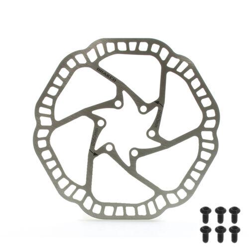 One Piece Extra Light Mountain Bike Disc Brake Rotor 6 bolts